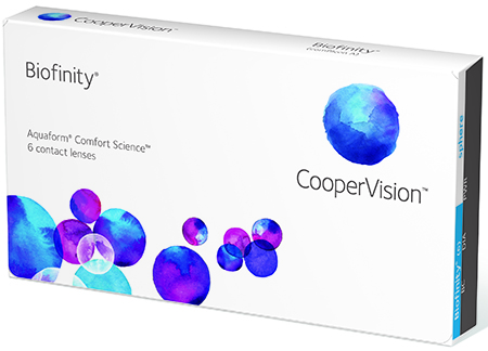 Biofinity Contact Lenses