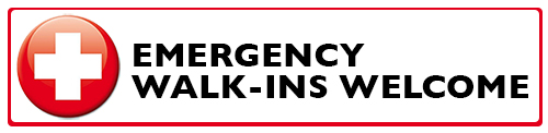 Emergency Walk-Ins Welcome