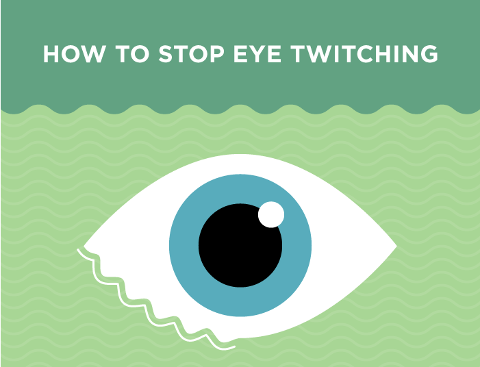 How to Make that Eye Twitch Go Away