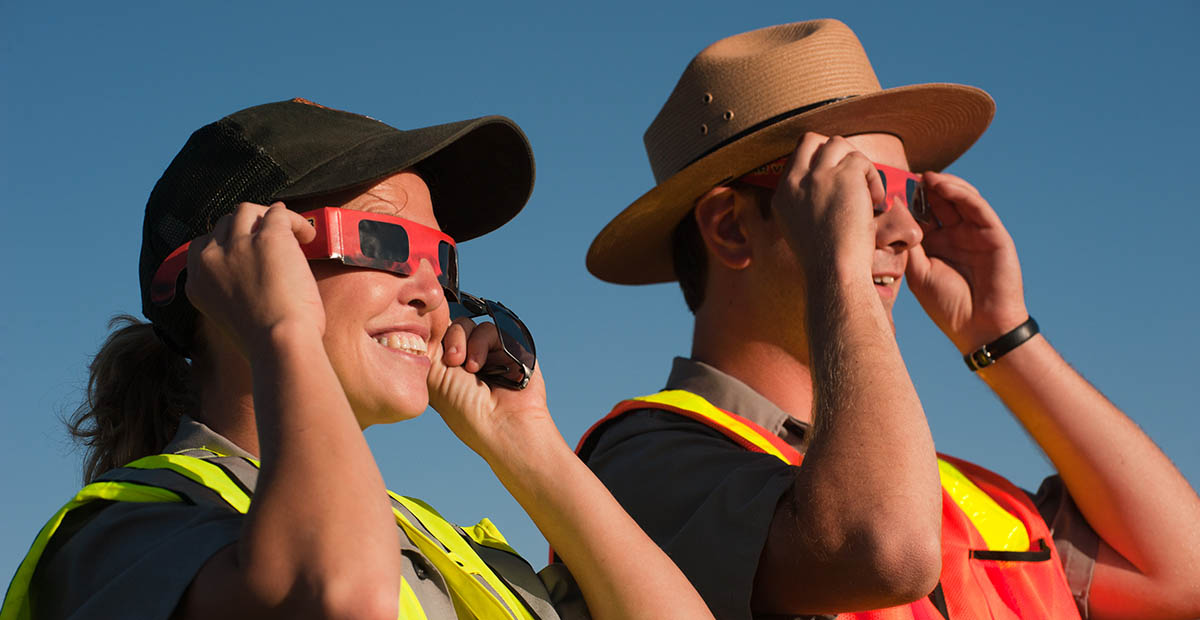 Don't Fry Your Eyes - How a Solar Eclipse is still a Glaring Problem